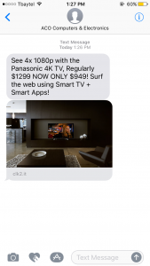 aco text message